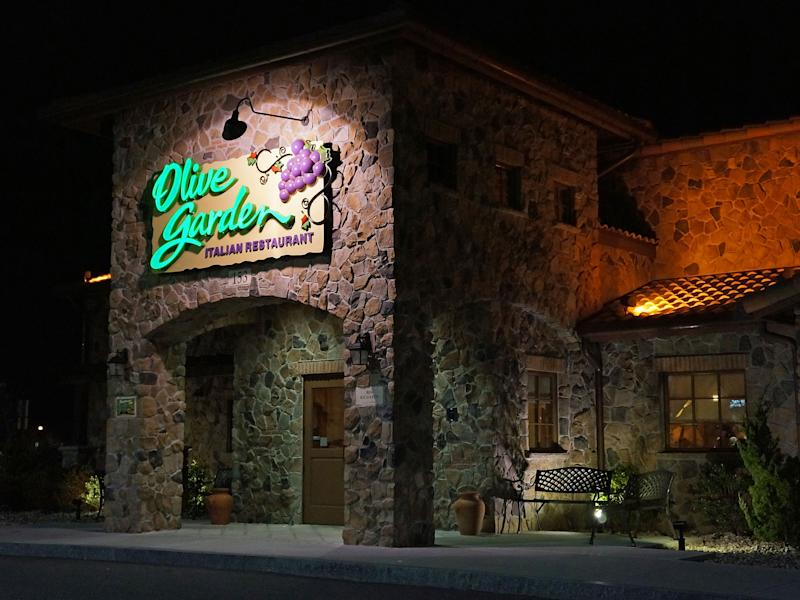 An Olive Garden restaurant in Danvers, Massachusetts: Anthony92931/Wikimedia Creative Commons