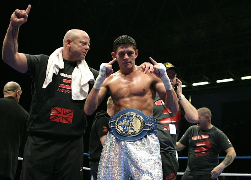 British boxer Jamie MCDonnell, pictured on March 20, 2010, retained his World Boxing Association bantamweight title with a unanimous decision over Japan's Tomoki Kameda