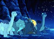"<p><strong>Tubi's Description:</strong> ""After Littlefoot's grandfather gets sick, it's up to the young Apatosaurus and his friends to find a healing petal located in a faraway land.""</p> <p><a href=""https://tubitv.com/movies/586171/the-land-before-time-iv-journey-through-the-mists"" class=""link rapid-noclick-resp"" rel=""nofollow noopener"" target=""_blank"" data-ylk=""slk:Watch The Land Before Time IV: Journey Through the Mists on Tubi here!"">Watch <strong>The Land Before Time IV: Journey Through the Mists</strong> on Tubi here!</a></p>"