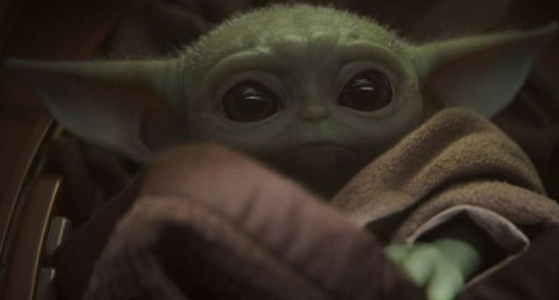 Hasbro's Baby Yoda talking plush dolls even have the bowl of soup