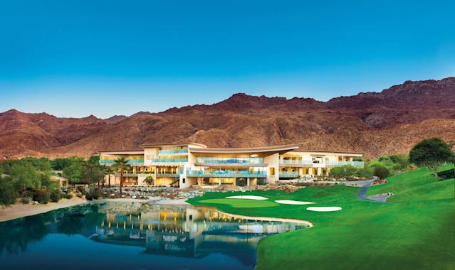 """<h1 class=""""title"""">Bighorn Golf Club clubhouse.jpg</h1> <div class=""""caption""""> The back-end of the clubhouse, overlooking the 18th hole and framed by the surrounding mountains. </div> <cite class=""""credit"""">Mark Davidson</cite>"""