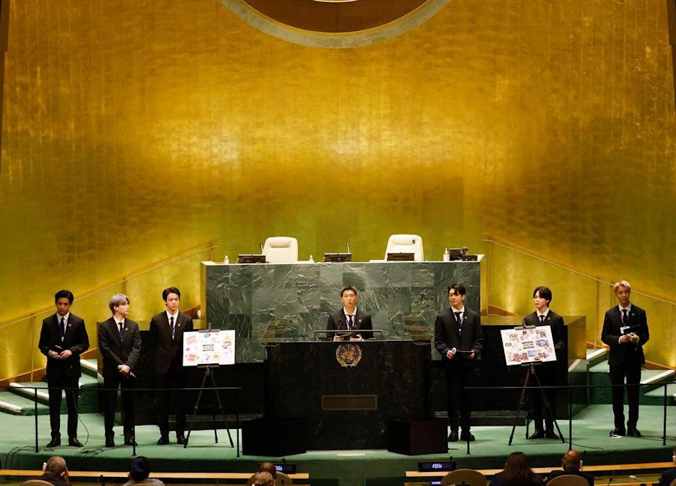 ADDITION UN General Assembly (ASSOCIATED PRESS)