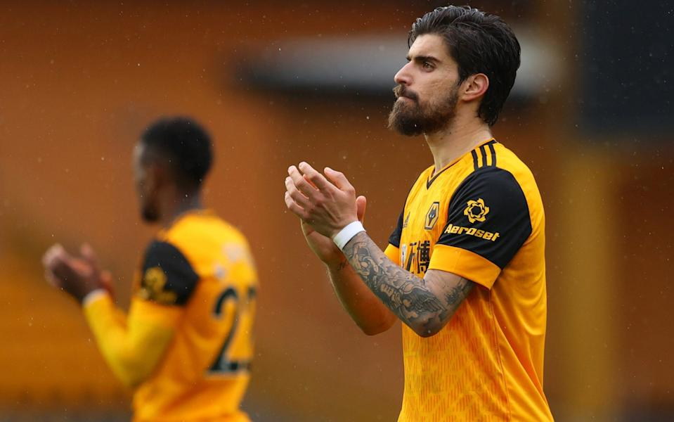 Ruben Neves is open to leaving Wolves this summer - GETTY IMAGES