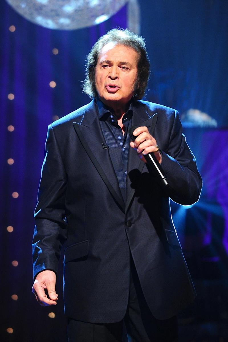 Stage presence: Engelbert Humperdinck performing on The Graham Norton Show in 2012 (PA)