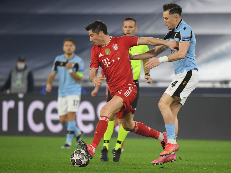 Champions League - Round of 16 First Leg - Lazio v Bayern Munich