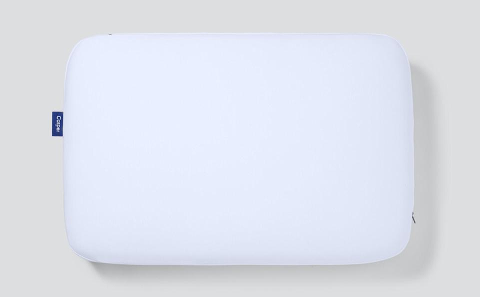 """<h2>Best Memory Foam Pillow For Stomach Sleepers </h2><br><h3>Casper Foam Pillow<br></h3><br>According to reviewers, Casper's foam pillow is perfect for caressing your neck while you dream on your stomach. Plus, its perforated foam is designed to help the dense, supportive material breathe — less overheating, more snoozing.<br><br><strong>The Hype</strong>: 4.3 out of 5 stars and 146 reviews on <a href=""""https://www.google.com/shopping/product/4486411864395108840/reviews"""" rel=""""nofollow noopener"""" target=""""_blank"""" data-ylk=""""slk:Google"""" class=""""link rapid-noclick-resp"""">Google</a><br><br><strong>Sound Sleepers say:</strong> """"I am primarily a side sleeper, but also find myself on my stomach some nights. This pillow has the right amount of firmness so that my neck is adequately supported without being placed in an unnatural or uncomfortable position. I no longer wake up with neck or shoulder pain. And the pillow retains its shape and loft — unlike other pillows I have purchased in the past.""""<br><br><em>Shop <a href=""""https://casper.com/pillows/foam-pillow/"""" rel=""""nofollow noopener"""" target=""""_blank"""" data-ylk=""""slk:Casper"""" class=""""link rapid-noclick-resp""""><strong>Casper</strong></a> </em><br><em>Shop <a href=""""https://www.bedbathandbeyond.com/store/product/foam-casper-pillow-in-white/5589293"""" rel=""""nofollow noopener"""" target=""""_blank"""" data-ylk=""""slk:Bed Bath & Beyond"""" class=""""link rapid-noclick-resp""""><strong>Bed Bath & Beyond</strong></a></em><br><br><strong>Casper</strong> Foam Pillow, $, available at <a href=""""https://go.skimresources.com/?id=30283X879131&url=https%3A%2F%2Fcasper.com%2Fpillows%2Ffoam-pillow%2F"""" rel=""""nofollow noopener"""" target=""""_blank"""" data-ylk=""""slk:Casper"""" class=""""link rapid-noclick-resp"""">Casper</a>"""