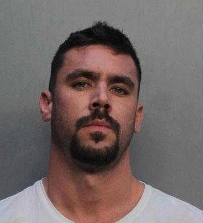 David Hines, 29, used the money meant to support businesses impacted by the pandemic on a 2020 Lamborghini Huracan, dating websites and jewelry, authorities said. (Photo: MIAMI-DADE COUNTY CORRECTIONS)