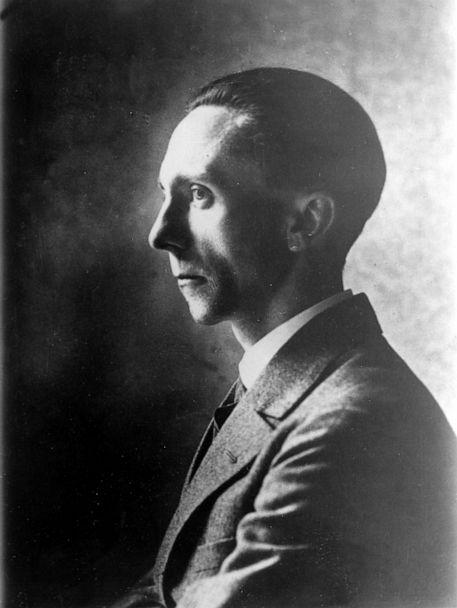 PHOTO: German Reichstag deputy and propagandist Joseph Goebbels is pictured on May 13, 1930. (AP, FILE)
