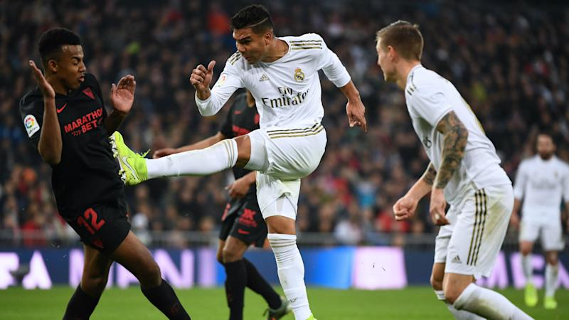 Real Madrid-linked Kounde in no rush to leave Sevilla
