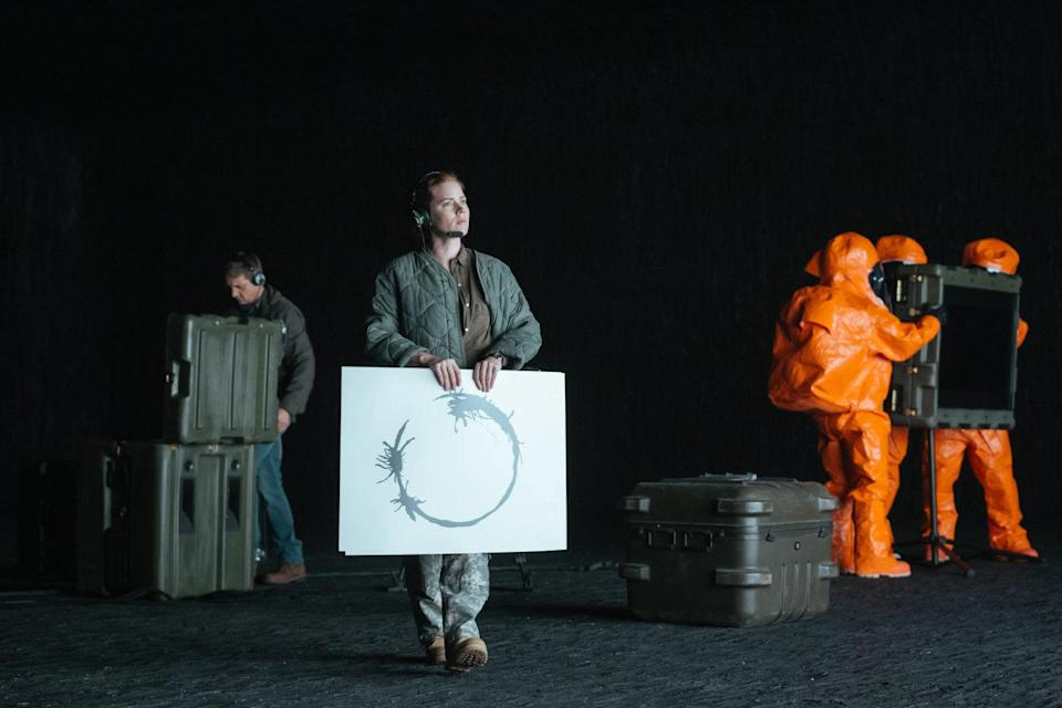 <p>Denis Villeneuve's alien invasion transcended the genre to give us one of the most emotional, thought-provoking and downright moving cinema experiences of the year. Anchored by another stunning performance from Amy Adams, 'Arrival' is a film that offers something new with every repeat performance, reminding us as the human race that we're stronger together. </p>