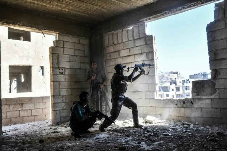The US-backed Syrian Democratic Forces say they have begun the battle to capture the last 10 percent of Raqa under jihadist control