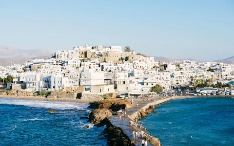 Naxos is the largest of the Cyclades - Credit: This content is subject to copyright./Westend61