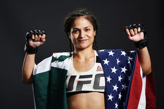 Is Cynthia Calvillo the next big thing in the UFC women's strawweight division. (Getty)