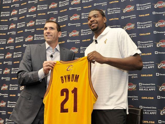 Andrew Bynum is working hard and looking forward to his eventual comeback in Cleveland. He swears.