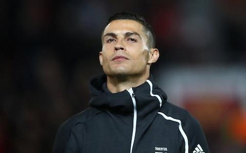 <span>Cristiano Ronaldo, pictured ahead of the Juventus v Manchester United match on October 23</span>