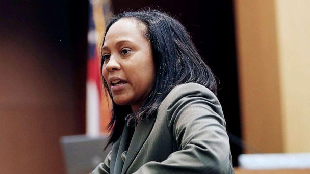 PHOTO: In this Aug. 24, 2016, file photo, Fulton County Deputy District Attorney Fani Willis makes her closing arguments during a trial in Atlanta. (John Bazemore/AP, FILE)
