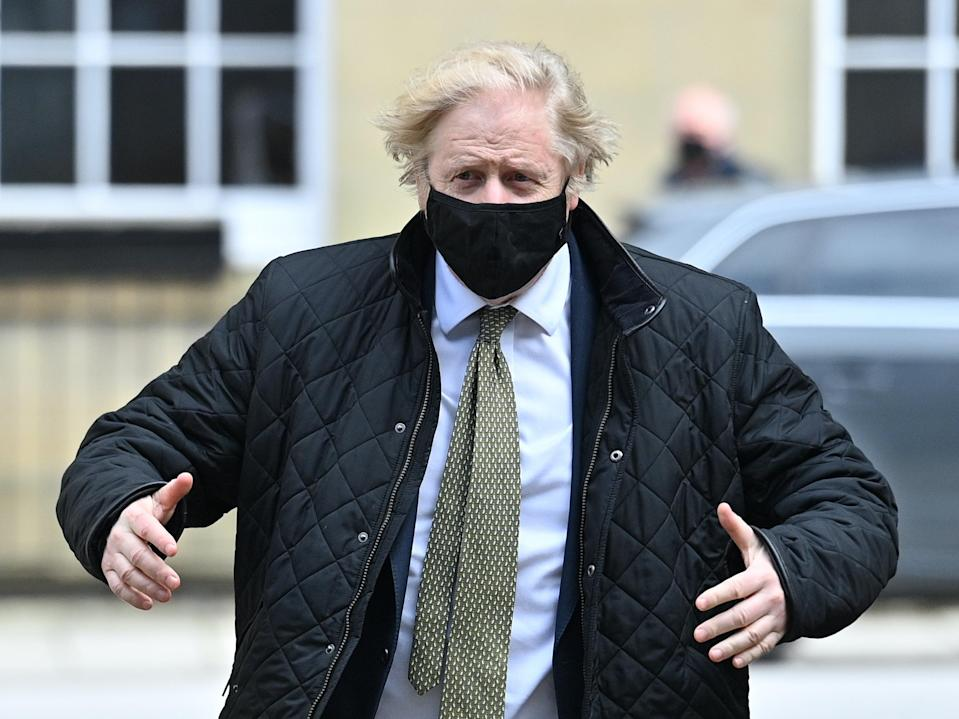 <p>Boris Johnson: do not attempt to rugby-tackle this man</p> (PA)
