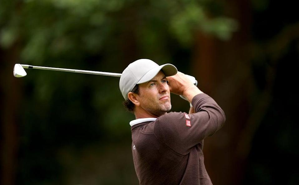 Adam Scott backed playing partner Justin Rose for a Ryder Cup wild card after day one of the BMW PGA Championship (Steven Paston/PA) (PA Wire)