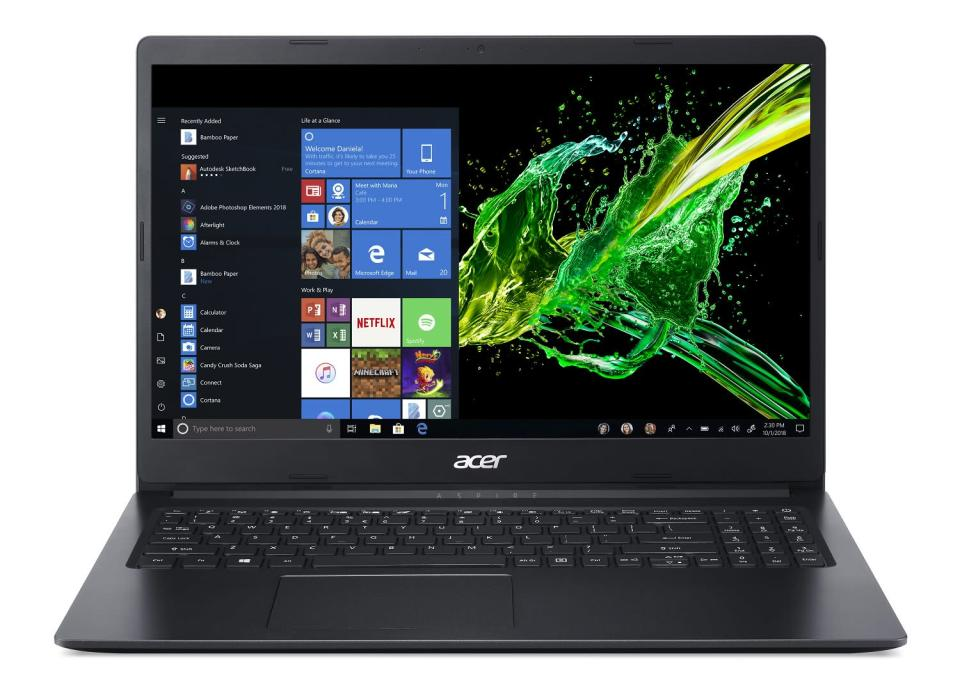 This Acer Windows 10 machine features a 15.6-inch HD display. (Photo: Walmart)