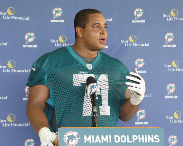 Jonathan Martin is reportedly facing five criminal charges stemming from a threatening Instagram post in February. (Getty Images)