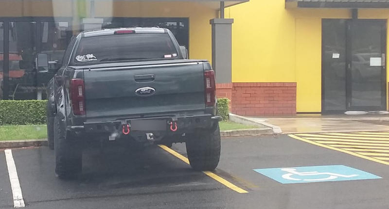 Fine set to jump for infuriating parking offence. Source: Facebook