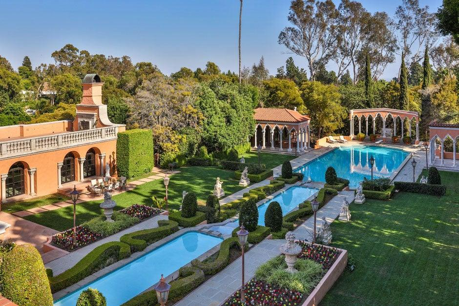 Blast from the past: The Beverly House's gardens were inspired by Roman emperor Hadrian's villa in TivoliThe Agency
