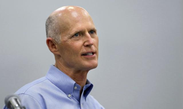 Florida Gov. Rick Scott thinks UCF should be college football's national champions. (AP Photo)