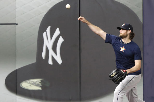 "Is it inevitable that Gerrit Cole will sign with the <a class=""link rapid-noclick-resp"" href=""/mlb/teams/ny-yankees/"" data-ylk=""slk:New York Yankees"">New York Yankees</a>? (AP Photo/Kathy Willens)"