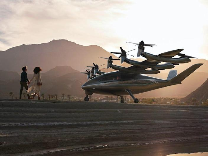 Archer Aviation electric aircraft VTOL