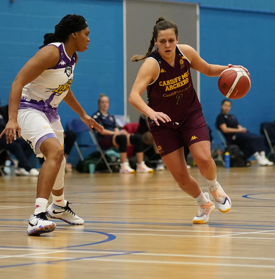 British Basketball League head of communications Selina Conroy hopes to help the sport grow in the UK © Graham Glendinning / SOPA Images via Reuters Connect
