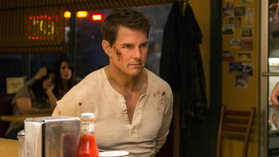 Tom Cruise in 'Jack Reacher: Never Go Back'. (Credit: Paramount)