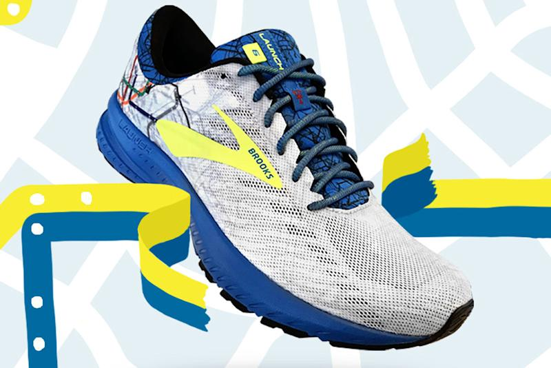9cf2116a058 Brooks Takes Inspiration From Boston s  T  Train for the 2019 Marathon Shoe
