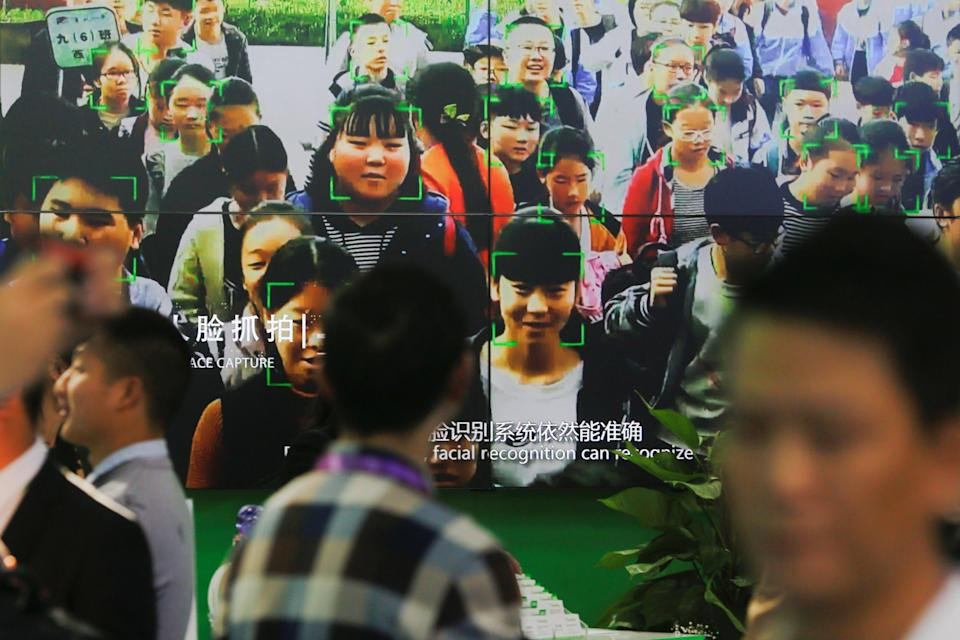 China is moving ahead of the rest of the world in making facial recognition technology a part of people's everyday life. Photo: Reuters