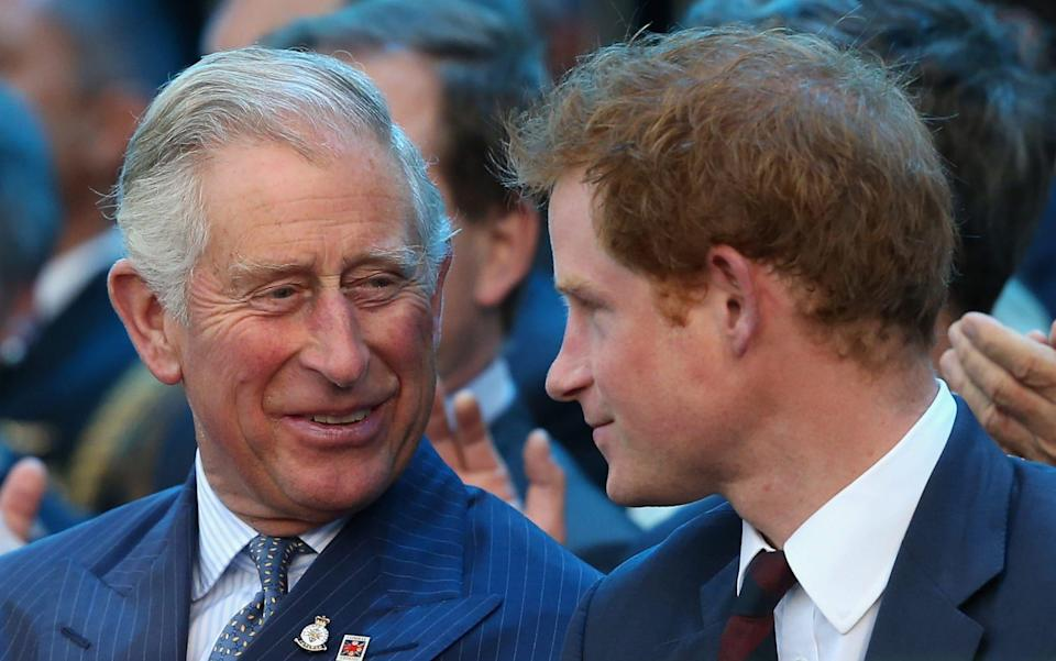 Harry was once arguably closer to Charles than his brother William was - Chris Jackson/Getty