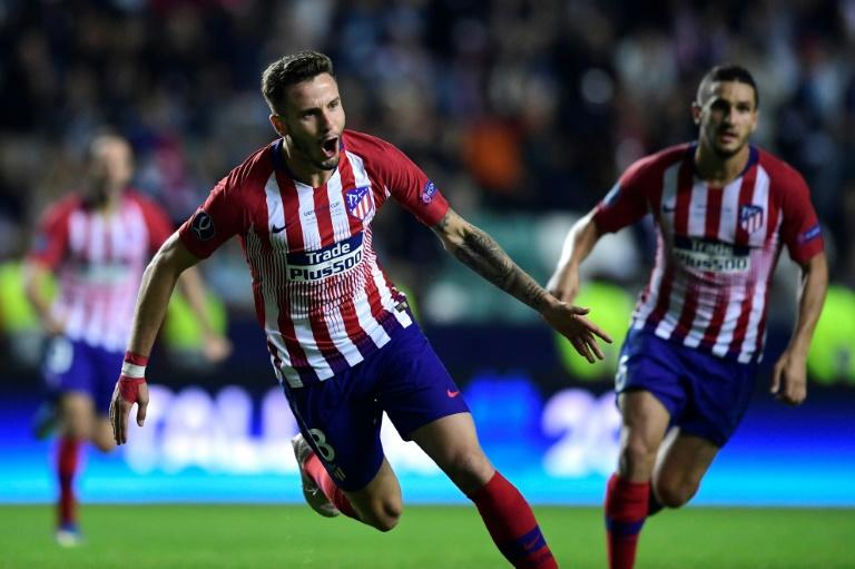 Saul Niguez's brilliant extra-time strike helped Atletico to victory over Real in the Madrid derby Super Cup