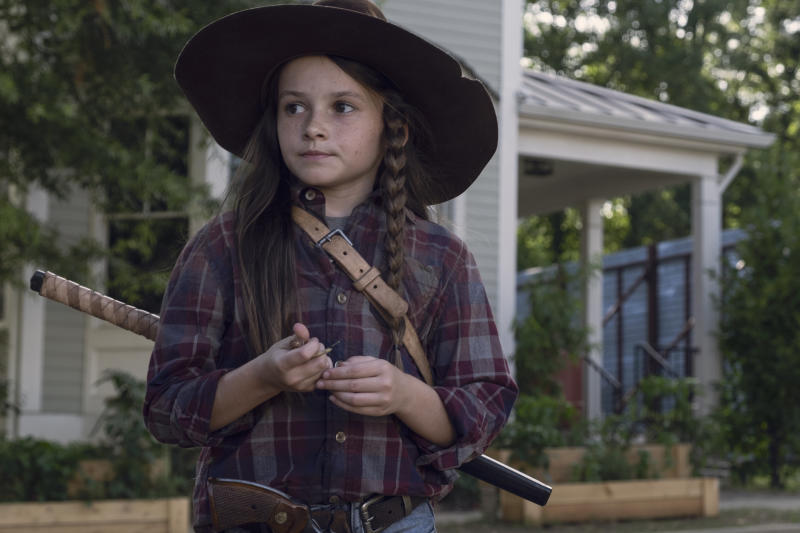 May the Force be with you, Judith. (Gene Page/AMC)