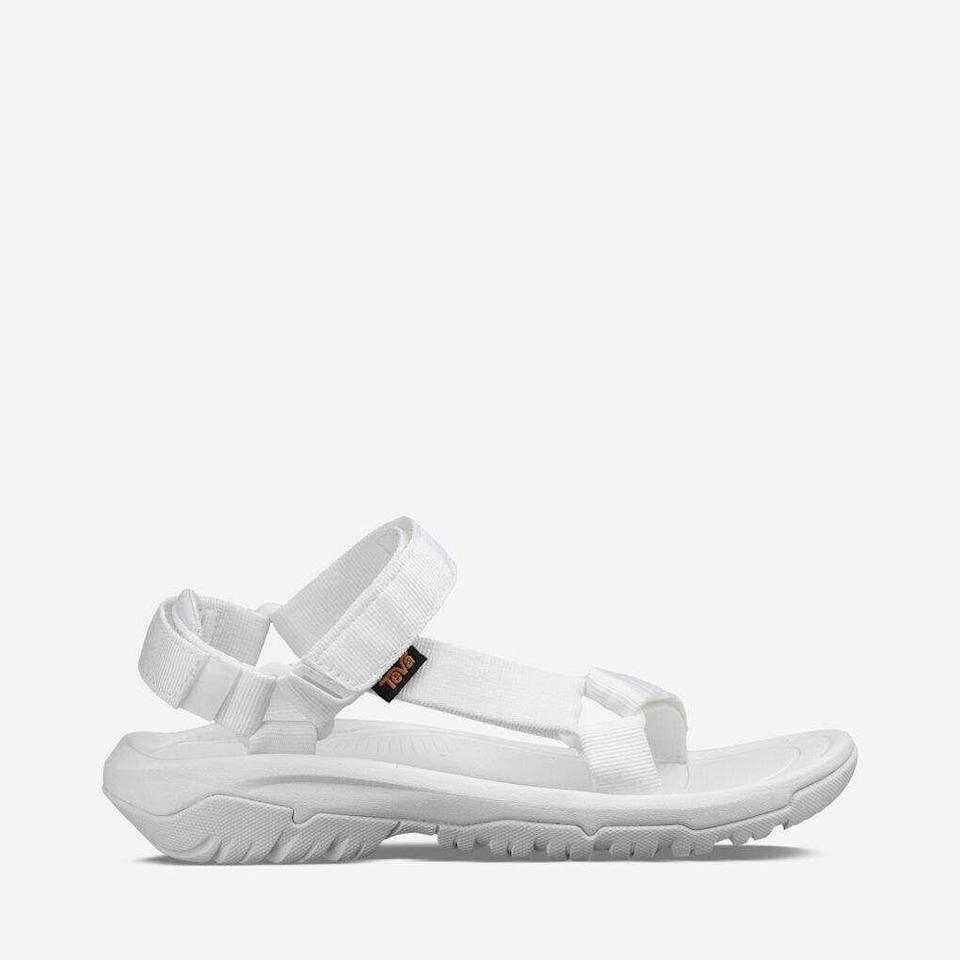 """<p><strong>Teva</strong></p><p>teva.com</p><p><strong>$70.00</strong></p><p><a href=""""https://go.redirectingat.com?id=74968X1596630&url=https%3A%2F%2Fwww.teva.com%2Fwomen-sandals%2Fhurricane-xlt2%2F1019235.html%3Fdwvar_1019235_color%3DBRWH%23start%3D10%26cgid%3Dhurricane-sandals&sref=https%3A%2F%2Fwww.marieclaire.com%2Ffashion%2Fg32185174%2Fugly-shoes%2F"""" rel=""""nofollow noopener"""" target=""""_blank"""" data-ylk=""""slk:Shop Now"""" class=""""link rapid-noclick-resp"""">Shop Now</a></p><p>Just as cool on its own as it is with a pair of wool camp socks, the ever-technical Teva style is a classic for rugged living. </p>"""