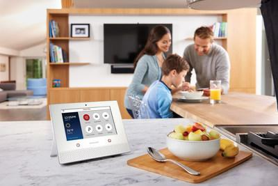 The new Honeywell Lyric Home Security and Control System - the Lyric Controller.