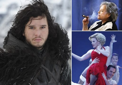 Emmys 2012: HBO, Fueled by Game of Thrones, and CBS Lead Early Winners; Smash Pulls Upset