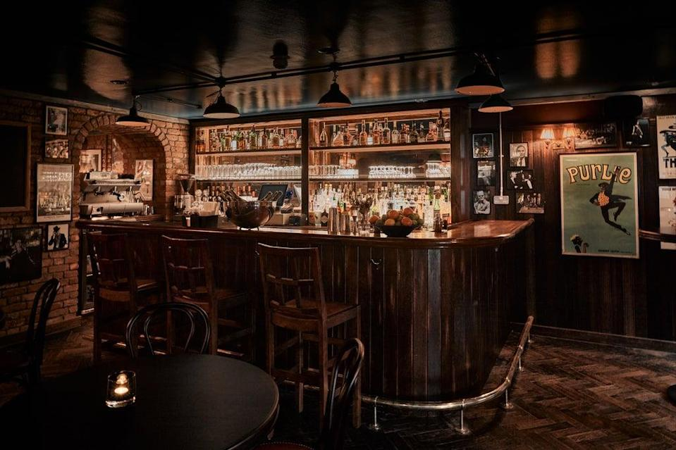 One to prop up: the new Joe's Bar, which will be overseen by Russell Norman (Charlie McKay)