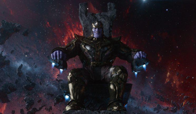 Thanos in all his glory - Credit: Marvel