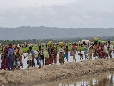 Bangladeshi island Bhasan Char ready to house Rohingya refugees; embankments, houses, hospitals, mosques built says country's refugee, relief and repatriation commissioner