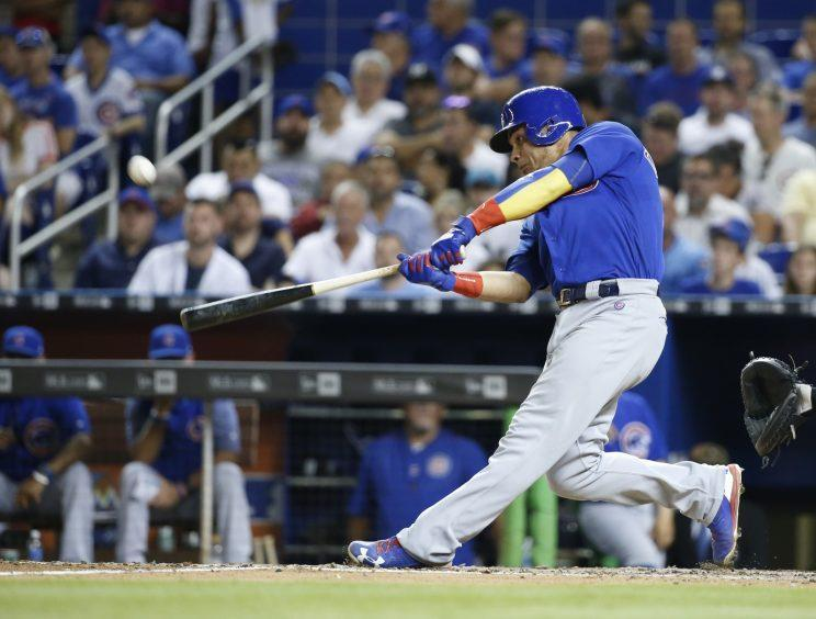 Willson Contreras continued the Cubs hot streak at the top of the lineup. (AP Photo)