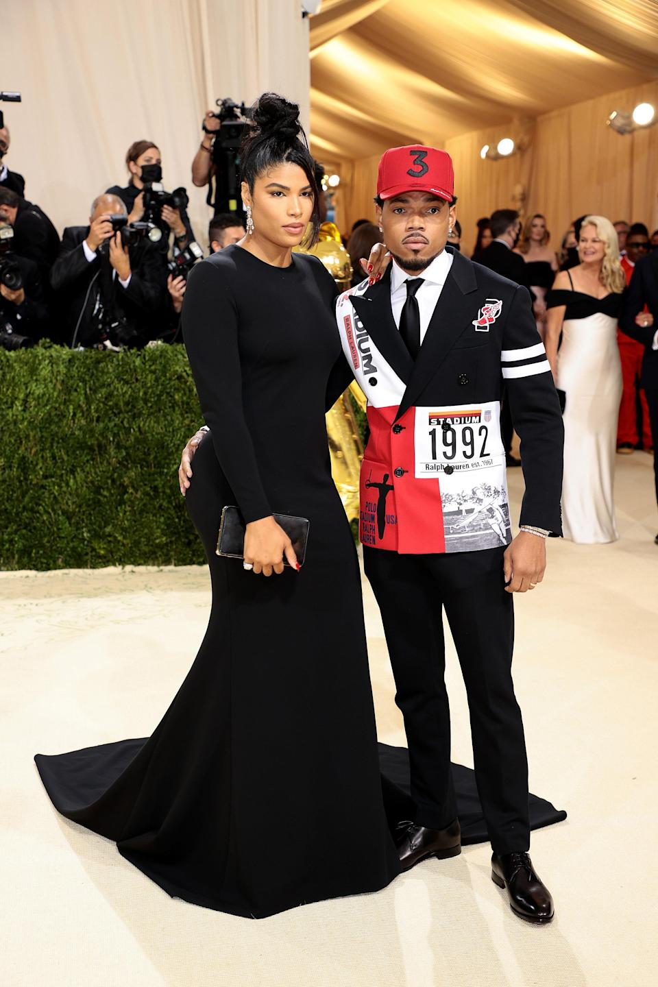 """<h1 class=""""title"""">Chance the Rapper and Kirsten Corley in Ralph Lauren</h1><cite class=""""credit"""">Photo: Getty Images</cite>"""