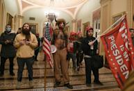 The extremists who stormed the US Capitol were supporters of President Donald Trump