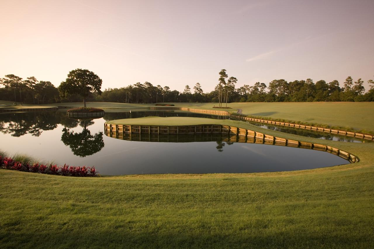 """Take a swing at a vacation just outside St. Augustine, Florida, when the unofficial fifth major of the PGA Tour takes place. Golf's biggest names converge on the Stadium Course close to the PGA headquarters here to compete on the Pete Dye-designed course. Dye's design is intended to maximize views for spectators, with large sloping mounds allowing unobstructed views—try to secure a spot to watch the pros tackle the infamous 17th hole, nicknamed Island Green, which tests the putting prowess of even the steadiest-armed pro. (This year's six-day tournament is teed up by a concert from The Chainsmokers on March 10 before the players appear.) Sports-mad visitors can tag team between events, as the golf bash also overlaps with <a href=""""http://www.staugustineraceweek.com/"""">St. Augustine Race Week</a>, when various offshore and inshore yacht races take place near America's oldest seaport city."""