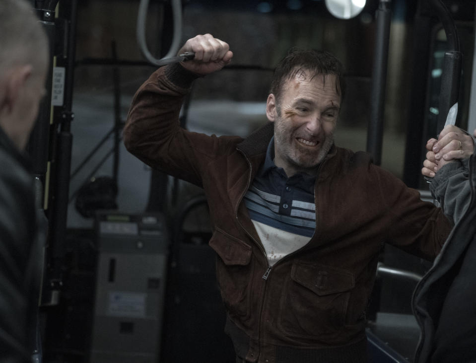Bob Odenkirk in Nobody. (Photo courtesy of United International Pictures)