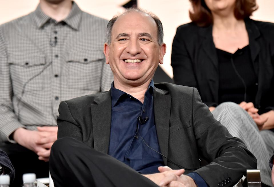 Armando Iannucci of 'Avenue 5' appears onstage during the HBO segment of the 2020 Winter Television Critics Association Press Tour on January 15, 2020. (Photo by Jeff Kravitz/Getty Images for WarnerMedia)