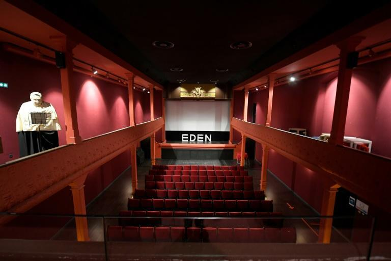 The Eden began by showing films from the Lumiere brothers, inventors of the motion picture.