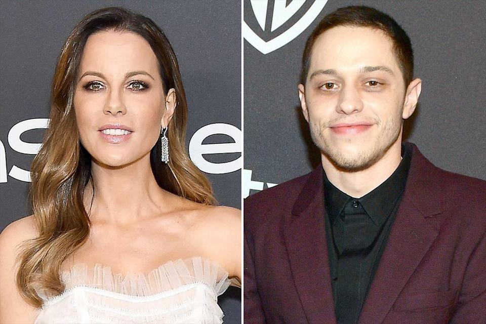 Kate Beckinsale is rumoured to be dating Ariana Grande's ex-fiancé Pete Davidson